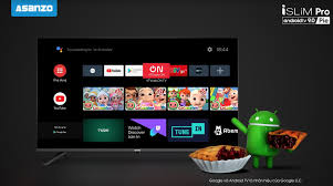TV iSLIM Pro: Tivi Asanzo dùng Android 9 Pie có giá từ 4,29 triệu đồng