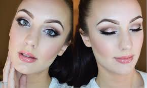 prom makeup for blue eyes glam