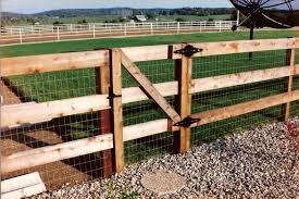 Wood Fence W Bar Y Fence Company