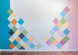 How To Colorful Accent Wall For Kids Room Anika S Diy Life