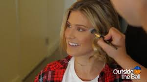 genie bouchard gets glammed up proving