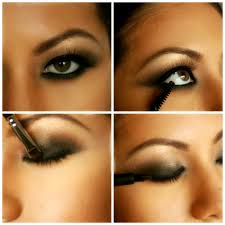 smokey hazel eye makeup cat eye makeup