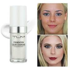 color changing foundation makeup base