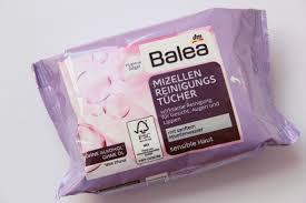 balea micellar makeup remover wipes