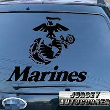Marines Car Sticker Skull Window Decal Graphic Helmet Royal Stickers Toqueglamour
