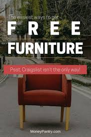 23 ways to get free furniture places