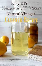 vinegar cleaner recipe homemade diy