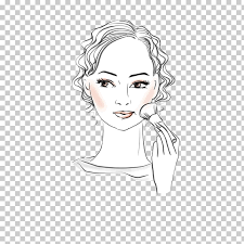 make up drawing makeup woman