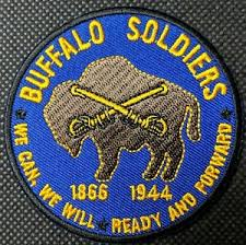 buffalo solrs 1866 1944 embroidered