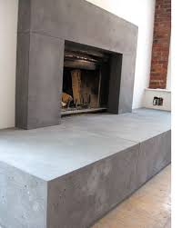 concrete fireplaces fireplace