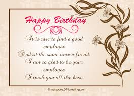 birthday wishes for boss greetings com
