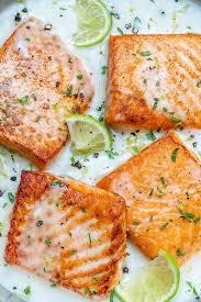 Creamy Coconut Lime Salmon Recipe ...