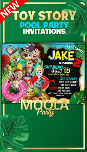 Toy Story 4 Pool Party Toy Story 4 Party Printables Toy Story 4