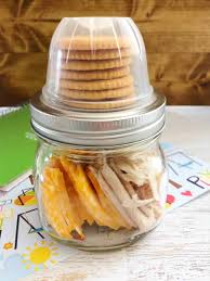 mason jar lunches homemade lunchables