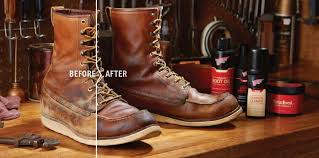 clean and care for red wing boots