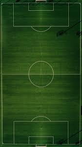 خلفية موبايل رياضية ملعب كرة قدم مربع