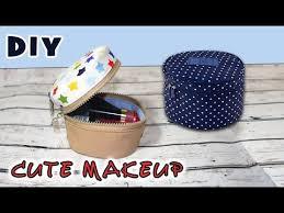 diy cute makeup bag sewing gift ideas