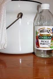 hardwood floors with vinegar clean mama