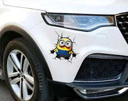 Mitsubishi Minion Vinyl Decal Sticker Many Colors Free Shipping