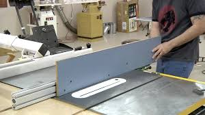 188 Verysupercool Tools After Market Tablesaw Fence The Wood Whisperer