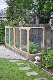 How Diy Raised Garden Bed Cover To Protect Your Garden From Animals Hydrangea Treehouse
