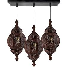 cer chandelier antique copper