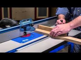 Kreg Precision Router Table System Item Prs1045 Youtube