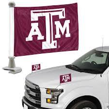 Texas A M Aggies Auto Ambassador Flag Set