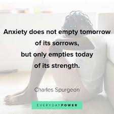 anxiety quotes to help relax your mind fears