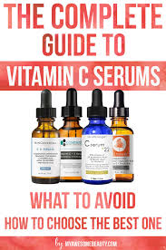 best vitamin c serum reviews for face