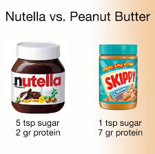 nutella or peanut er