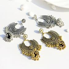jewelry indian oxidized gold silver