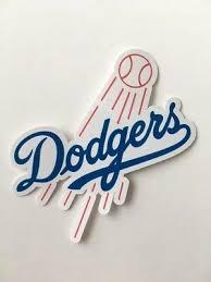Los Angeles Dodgers Logo Car Bumper Laptop Bumper Vinyl Die Cut Sticker Decal Ebay