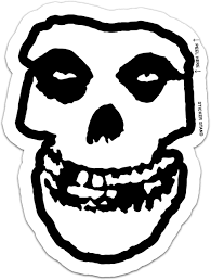 Amazon Com Misfits Skull Danzig Car Bumper Sticker Decal 4 X 5 Automotive