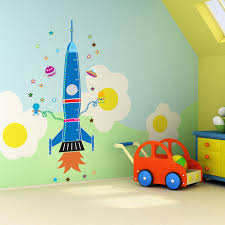 Spaceship Rocket Growth Height Chart Stickers Kids Room Bedroom Wall Stickers Home Decor Waterproof Chrismas Birthday Gift Stickers Home Decor Wall Stickerheight Chart Aliexpress