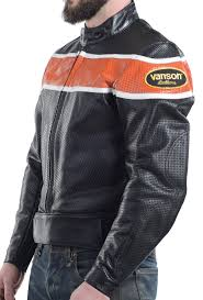 fit size so on vanson leathers