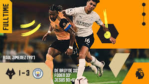 FT | Wolves 1-3 Manchester City Wolves... - Wolverhampton Wanderers FC