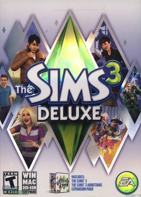 """Resultado de imagem para The sims 3 deluxe"""""""
