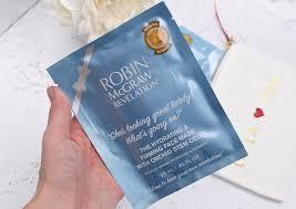 robin mcgraw revelation sheet masks