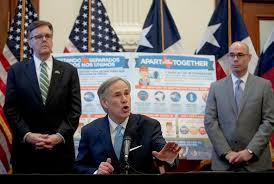 Gov. Greg Abbott Says Reopening The Texas Economy Will Be A Slow Process –  Houston Public Media