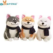 2020 bookfong wear scarf shiba inu dog