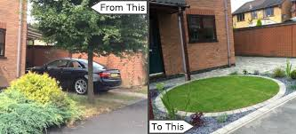 front garden designs leicestershire
