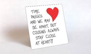 cousin quote close relatives best friends refrigerator magnet
