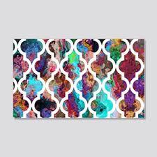 Quatrefoil Wall Decals Cafepress