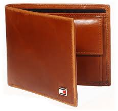 black and brown leather purse for men