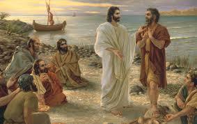 JESUS INSTRUCTS SIMON PETER | A CHRISTIAN PILGRIMAGE