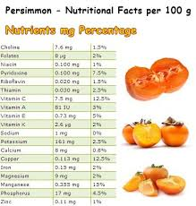 persimmon side effects natureword