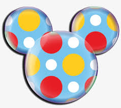 blue mickey mouse clipart