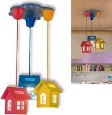 Amazon Com Mijiang Children S Room Living Room Ceiling Light Ceiling Lamp 3 E27 Kids Room Boy Girl Kids Lamp Girl Boy Nursery Bedroom Lamp O42 Cm Home Kitchen
