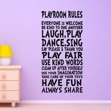 Playroom Rules Wall Decal Savvy Sassy Moms
